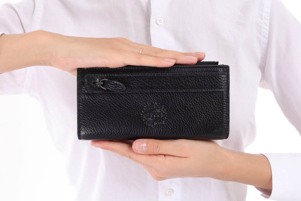 3760 - Leather wallet - Black