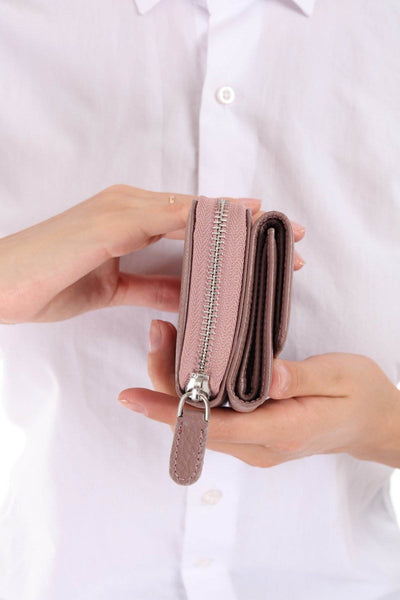 425 - Leather wallet -SOMO