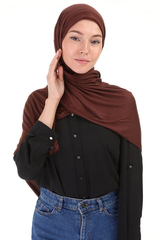 Hijab - 707 -Brown