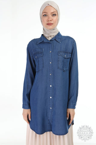 TUNIC- 6490 - DENIM