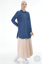 Load image into Gallery viewer, TENSEL TUNIC 6490 - DENIM