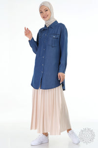 TENSEL TUNIC 6490 - DENIM