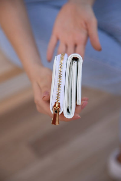 Card wallet-White