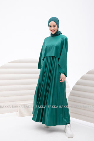 Dress - 4223 - Dark Green