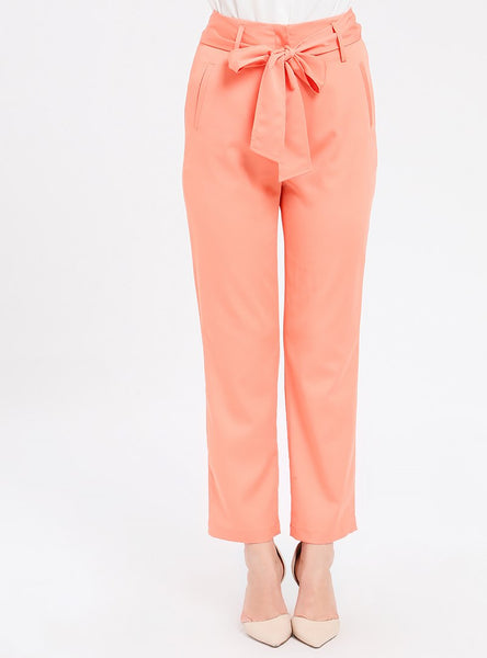 TROUSER Dark Salmon