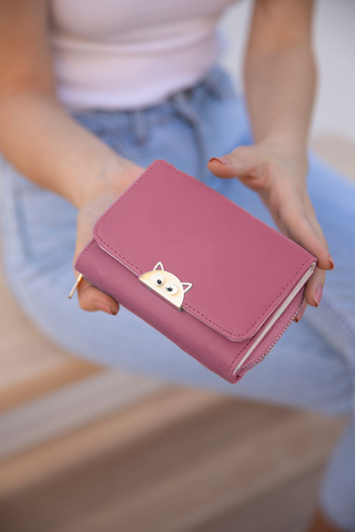 Card wallet-pink