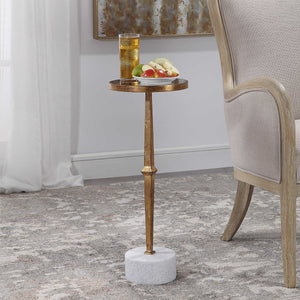 Marble Base Drinks Table
