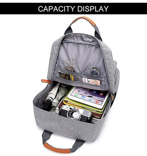 Bend the Trend Hot Fashion Men Casual Computer Backpack Light 15.6 inch Laptop anti theft