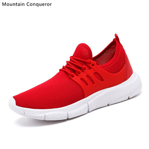 Bend the Trend Mountain Conqueror 2019 New Big Size 39-47 Men Casual Shoes Lightweight Breathable Shoes Men Fashion White Sneakers