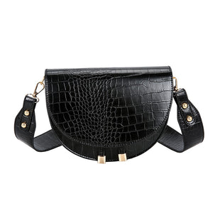 Bend the Trend Elegant Crocodile Pattern Crossbody Bag For Women