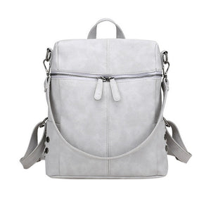 Bend the Trend Leather Backpack Women Waterproof