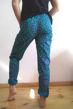 Load image into Gallery viewer, Turq Mandala shweshwe pants