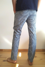 Load image into Gallery viewer, Moroccan mandala shweshwe pants