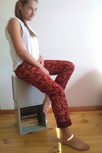 Load image into Gallery viewer, Floral spice shweshwe pants