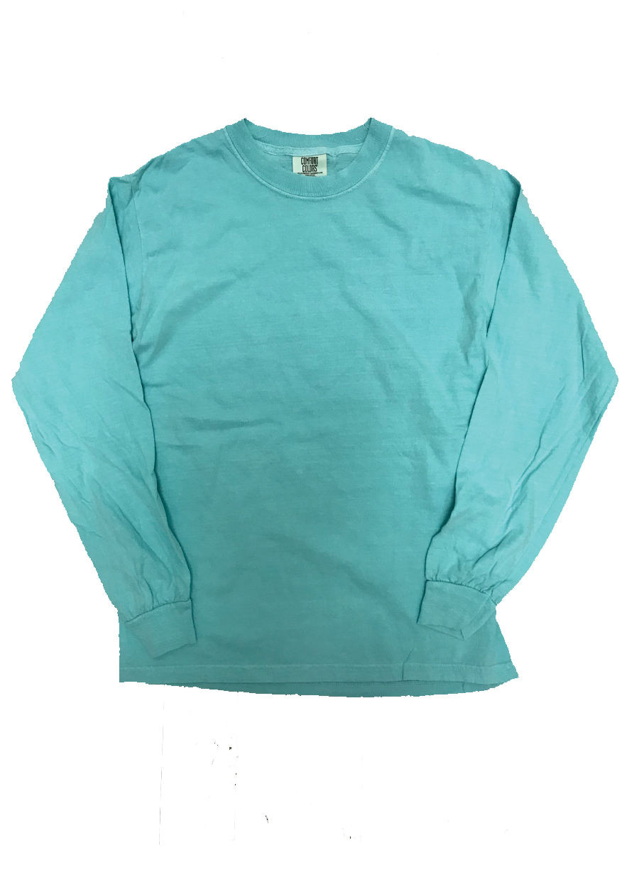Comfort Color Long Sleeve w/ Custom Text