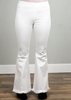 Wide Flare Leg Pant - Off White