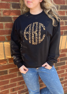 Crewneck Applique Sweatshirt