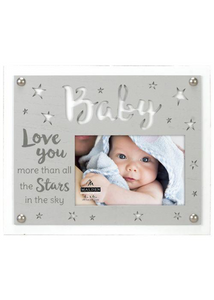 Love You More Than The Stars Picture Frame-4x6