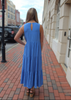 Layne Blue Maxi Dress