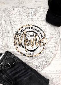 Bad Moms Club Sublimated Tee