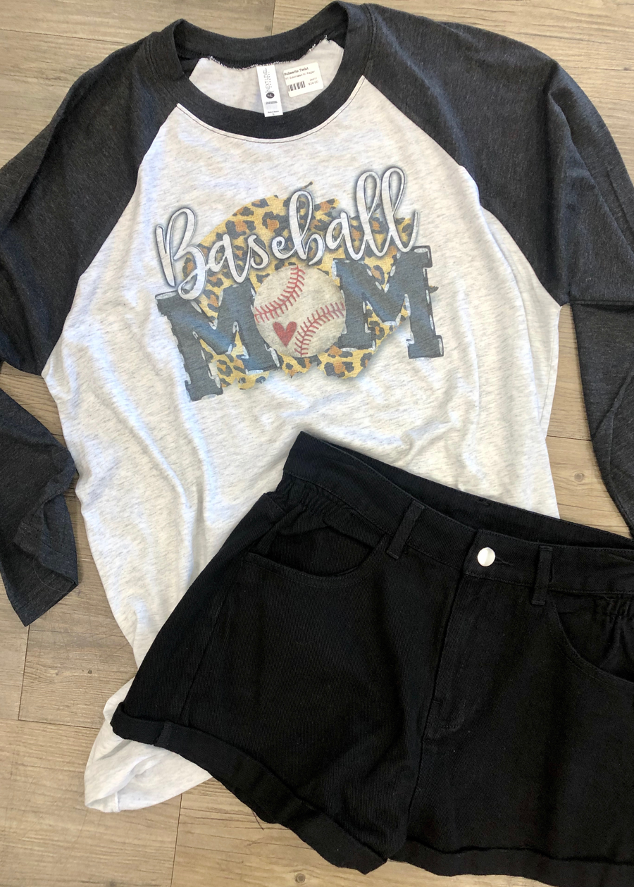 Baseball Mom Raglan