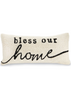 Bless Our Home Hooked Wool Pillow