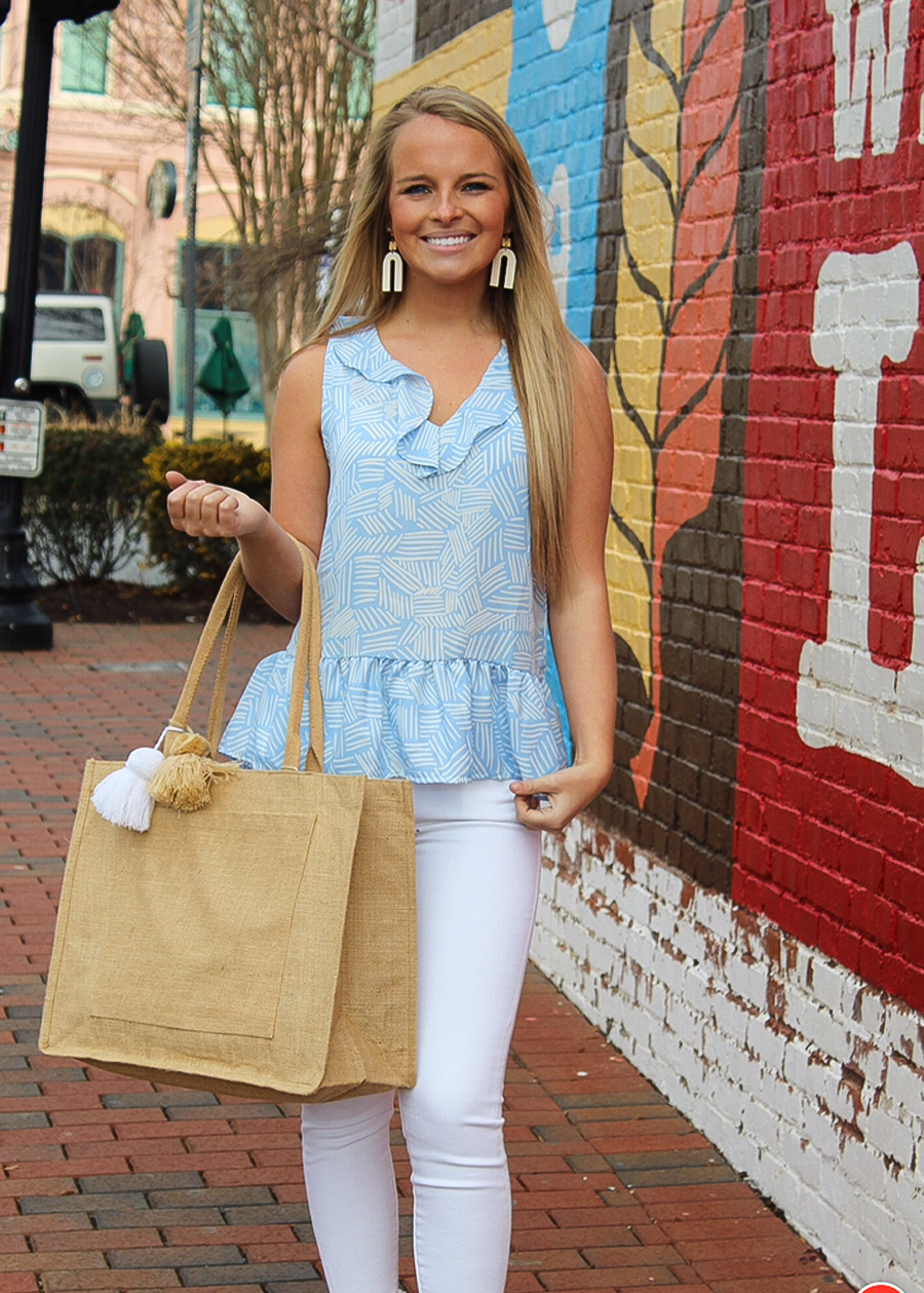 Britton Sleeveless Top