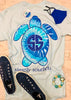 Youth Blue Tie Dye Turtle