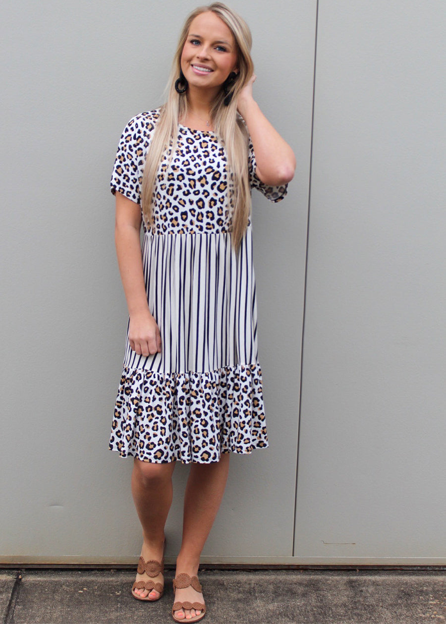 Polly Printed Dress