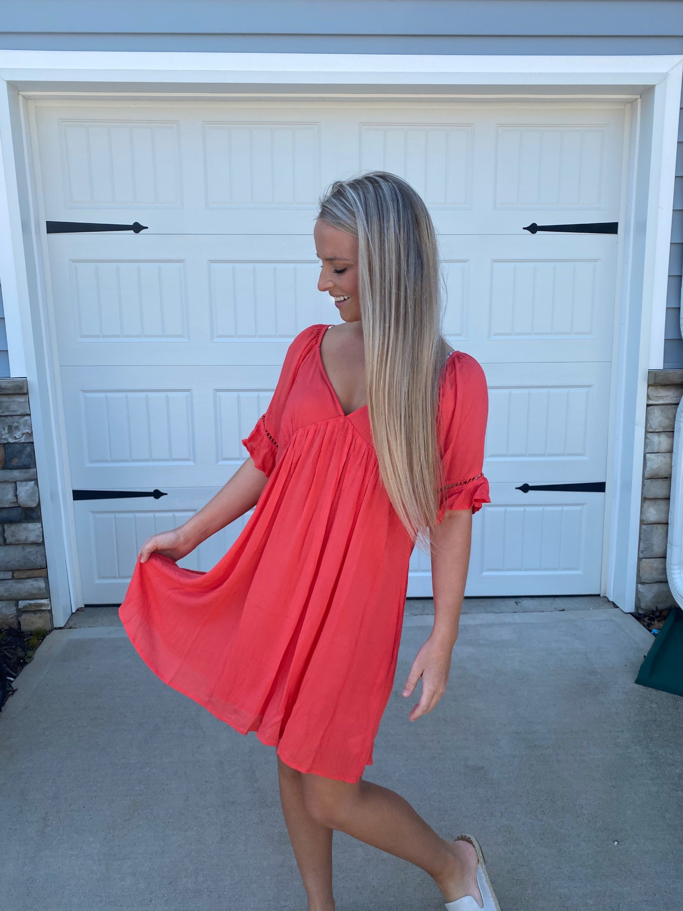 Sweetheart Ruffle Dress