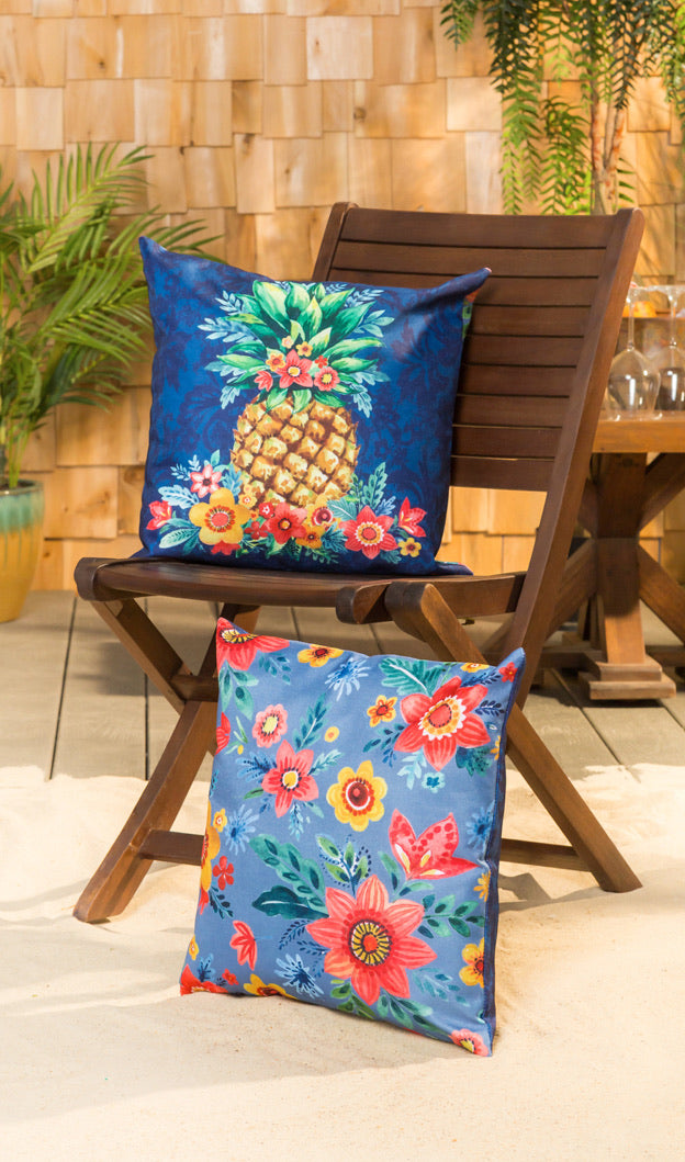 Boho Pineapple Interchangeable Pillow Cover