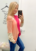 Brileigh Color Block Top