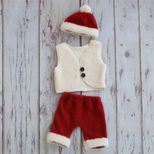 Load image into Gallery viewer, Santa Clothing Costumes For Baby