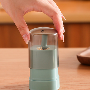 Personality Push Type Automatic Toothpick Box