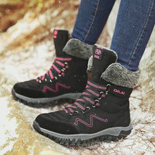 Load and play video in Gallery viewer, Waterproof Suede Snow Boots