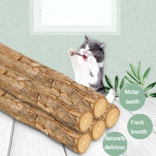 Load image into Gallery viewer, Natural Matatabi Catnip Cat Snacks Sticks