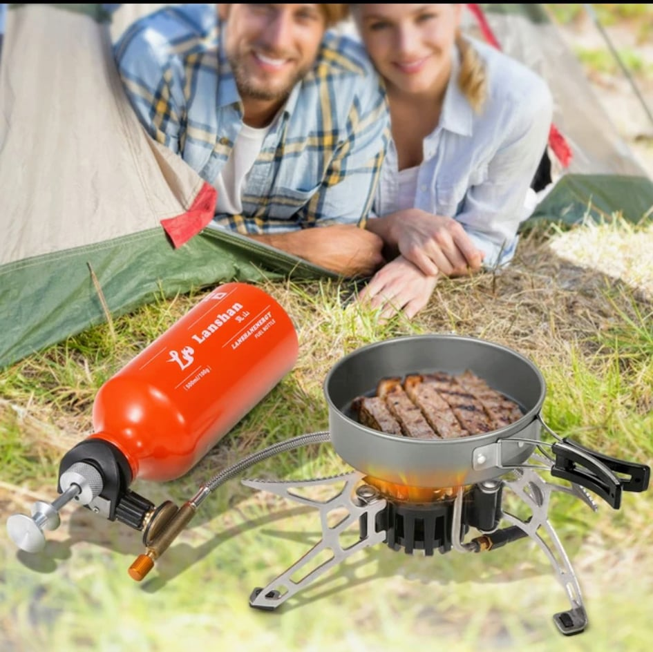 Outdoor Camping Multi Fuel Oil Stove Burner