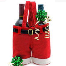 Load image into Gallery viewer, Wine Bottle Holder Santa Claus