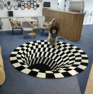 3D Carpet Vortex Illusion