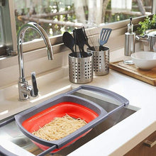 Load image into Gallery viewer, Collapsible Sink Colander