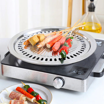Stainless Steel Barbecue Pan
