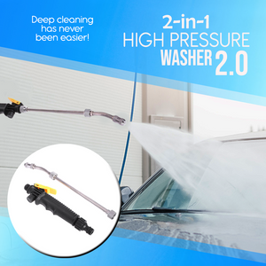 2 in 1 High Pressure Washer