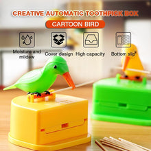 Load image into Gallery viewer, Creative Automatic Toothpick Box Cartoon Bird