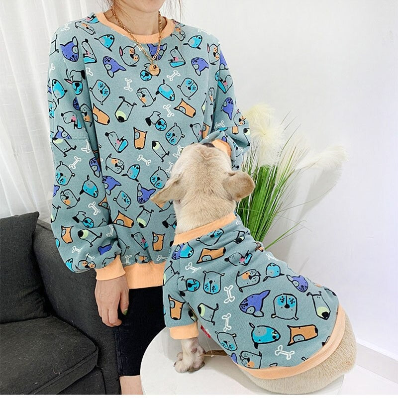 Adult-Child-Dog Sweater