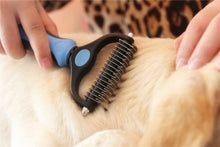 Load image into Gallery viewer, Double Pet Grooming Brush