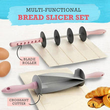 Load image into Gallery viewer, Multi-Function Bread Slicer Set