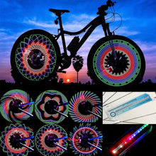 Load image into Gallery viewer, Bicycle Spoke LED Lights