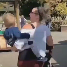 Load and play video in Gallery viewer, Baby Hip Seat Carrier