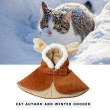 Load image into Gallery viewer, Cat Autumn/Winter Warm Clothes Hoodie