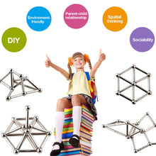 Load image into Gallery viewer, DIY Magnetic Sticks And Balls Building Toys Set